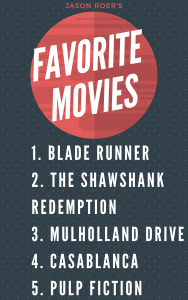 Dr. J's Favorite Movies